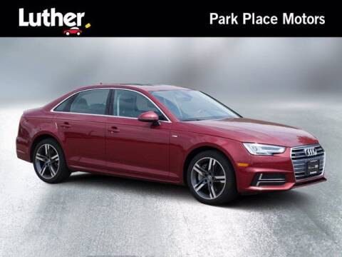 2018 Audi A4 for sale at Park Place Motor Cars in Rochester MN