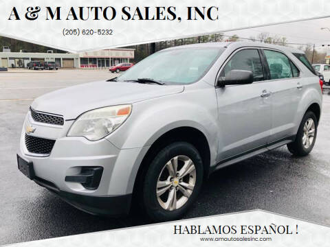 2012 Chevrolet Equinox for sale at A & M Auto Sales, Inc in Alabaster AL