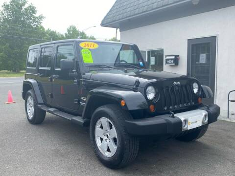 2011 Jeep Wrangler Unlimited for sale at Vantage Auto Group in Brick NJ