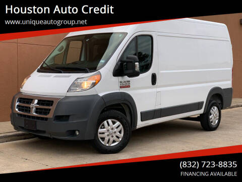 2017 RAM ProMaster Cargo for sale at Houston Auto Credit in Houston TX