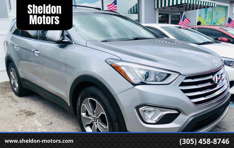 2013 Hyundai Santa Fe for sale at Sheldon Motors in Tampa FL