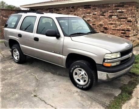 2002 Chevrolet Tahoe for sale at Prime Autos in Vidor TX