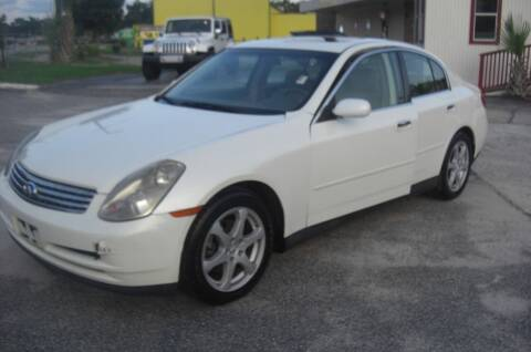 2004 Infiniti G35 for sale at CityWide Auto Sales in North Charleston SC