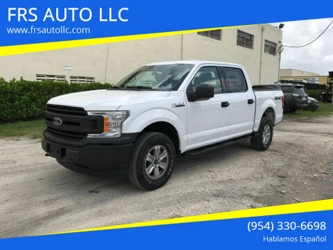 2019 Ford F-150 for sale at FRS AUTO LLC in West Palm Beach FL