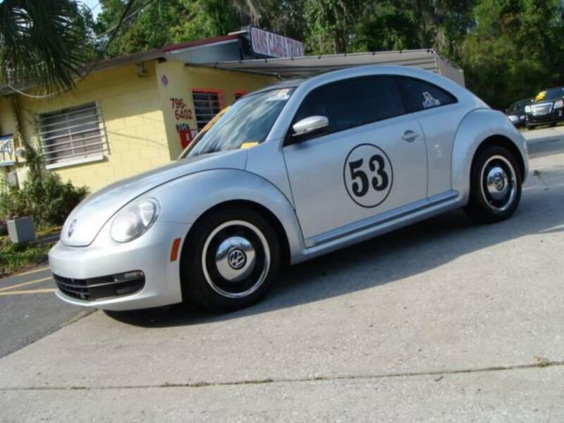 2012 Volkswagen Beetle for sale at VANS CARS AND TRUCKS in Brooksville FL