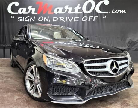 2014 Mercedes-Benz E-Class for sale at CarMart OC in Costa Mesa CA
