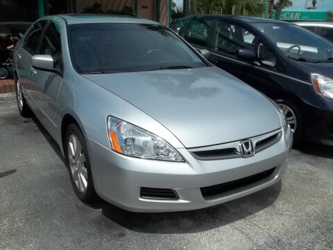 2006 Honda Accord for sale at PJ's Auto World Inc in Clearwater FL