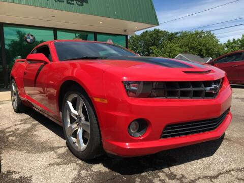 2013 Chevrolet Camaro for sale at GREENLIGHT AUTO SALES in Akron OH