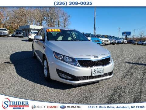 2013 Kia Optima for sale at STRIDER BUICK GMC SUBARU in Asheboro NC