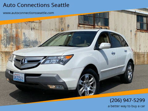 2008 Acura MDX for sale at Auto Connections Seattle in Seattle WA