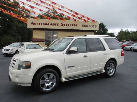 2008 Ford Expedition for sale at Automart South in Alabaster AL