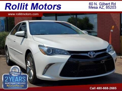 2016 Toyota Camry for sale at Rollit Motors in Mesa AZ