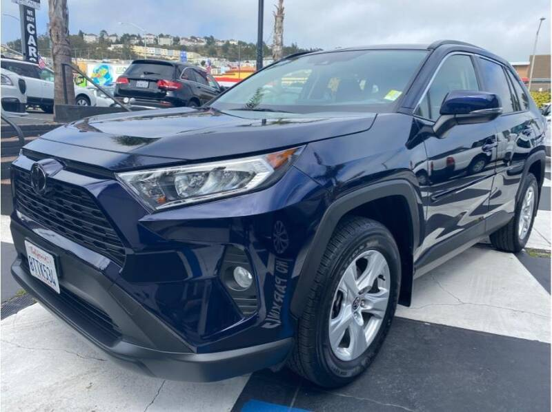 2021 Toyota RAV4 for sale at AutoDeals in Daly City CA