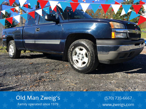 2005 Chevrolet Silverado 1500 for sale at Old Man Zweig's in Plymouth Township PA