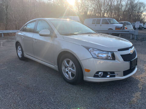 2013 Chevrolet Cruze for sale at George Strus Motors Inc. in Newfoundland NJ