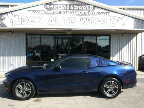 2011 Ford Mustang for sale at Don Auto World in Houston TX