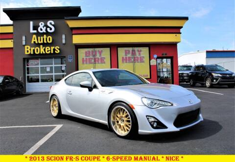 2013 Scion FR-S for sale at L & S AUTO BROKERS in Fredericksburg VA