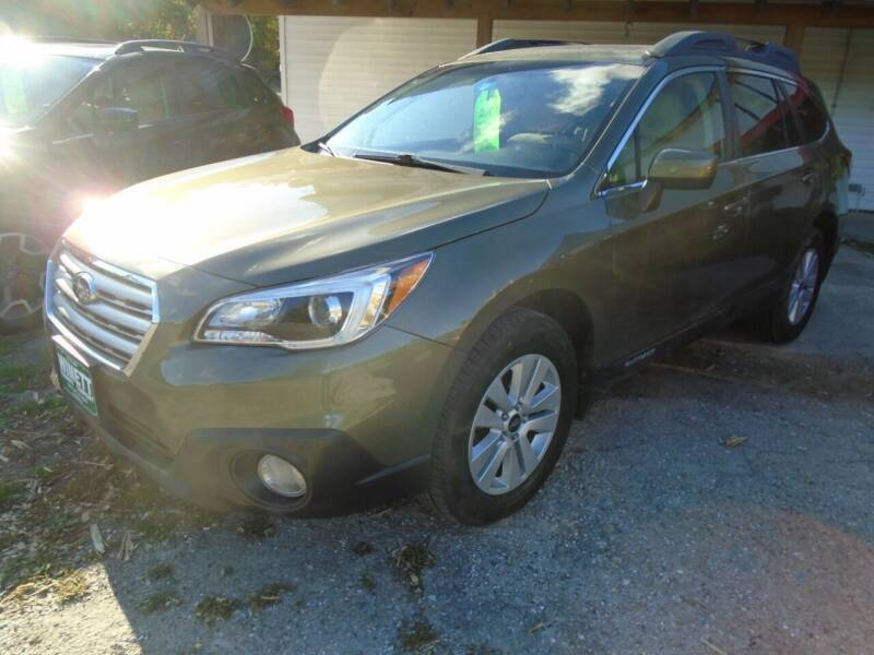 2015 Subaru Outback for sale at Wimett Trading Company in Leicester VT