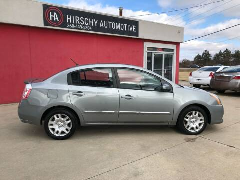 2012 Nissan Sentra for sale at Hirschy Automotive in Fort Wayne IN