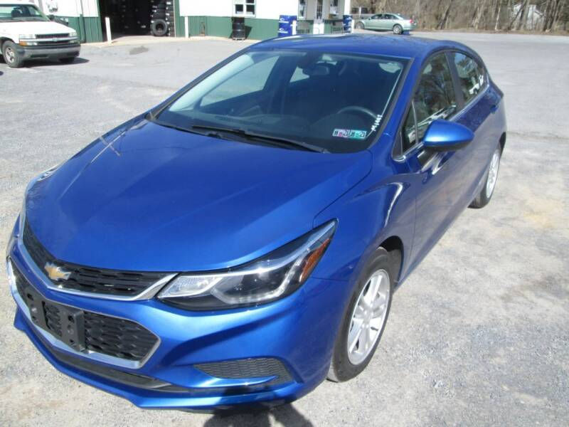 2017 Chevrolet Cruze for sale at WORKMAN AUTO INC in Pleasant Gap PA