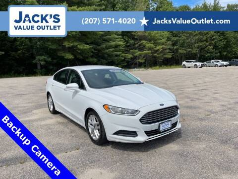 2016 Ford Fusion for sale at Jack's Value Outlet in Saco ME