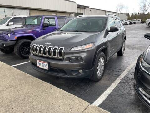 2016 Jeep Cherokee for sale at MIG Chrysler Dodge Jeep Ram in Bellefontaine OH