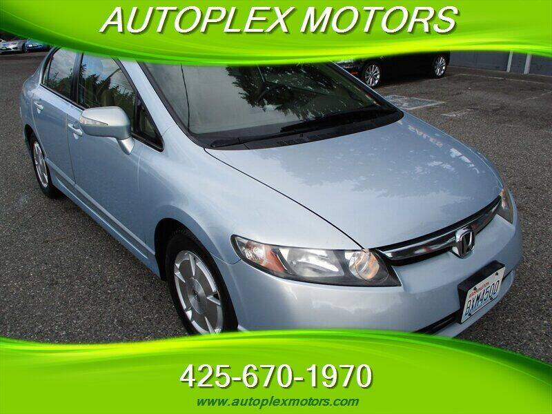 2007 Honda Civic for sale at Autoplex Motors in Lynnwood WA