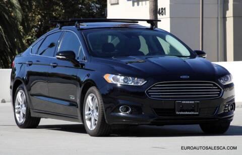 2016 Ford Fusion Energi for sale at Euro Auto Sales in Santa Clara CA