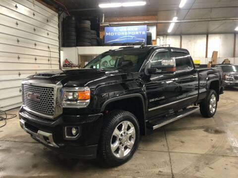 2017 GMC Sierra 2500HD for sale at T James Motorsports in Gibsonia PA