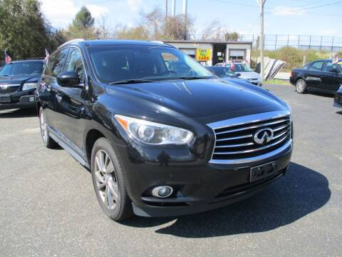 2013 Infiniti JX35 for sale at Unlimited Auto Sales Inc. in Mount Sinai NY