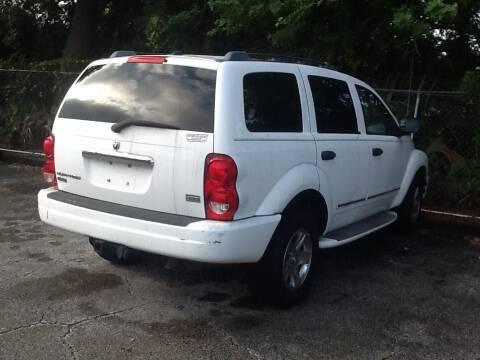 2004 Dodge Durango for sale at Easy Credit Auto Sales in Cocoa FL