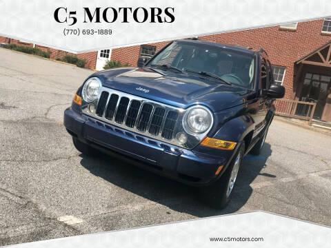 2006 Jeep Liberty for sale at C5 Motors in Marietta GA