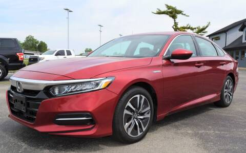 2019 Honda Accord Hybrid for sale at Heritage Automotive Sales in Columbus in Columbus IN
