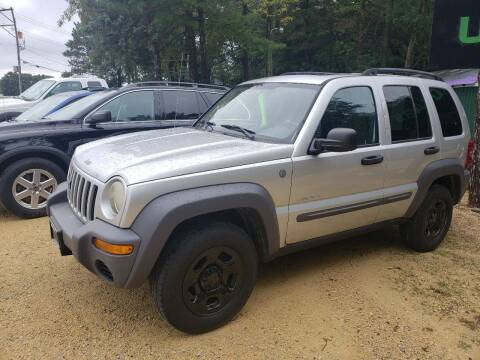 2004 Jeep Liberty for sale at Northwoods Auto & Truck Sales in Machesney Park IL