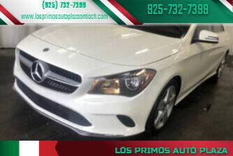 2018 Mercedes-Benz CLA for sale at Los Primos Auto Plaza in Antioch CA