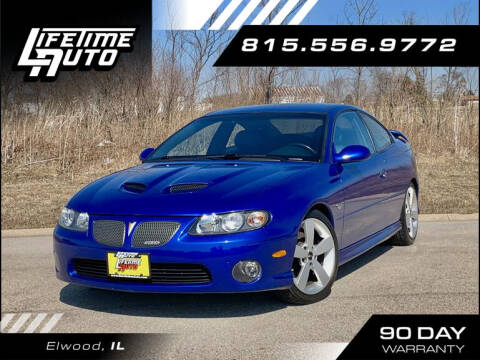 2006 Pontiac GTO for sale at Lifetime Auto in Elwood IL