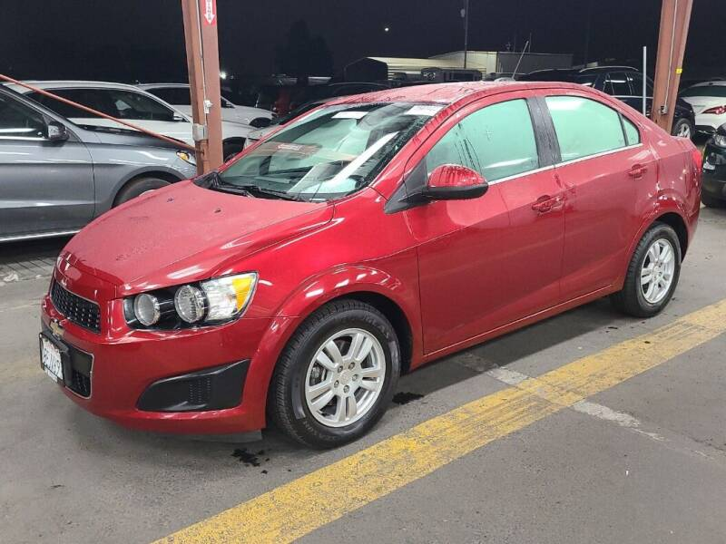 2016 Chevrolet Sonic for sale at A.I. Monroe Auto Sales in Bountiful UT