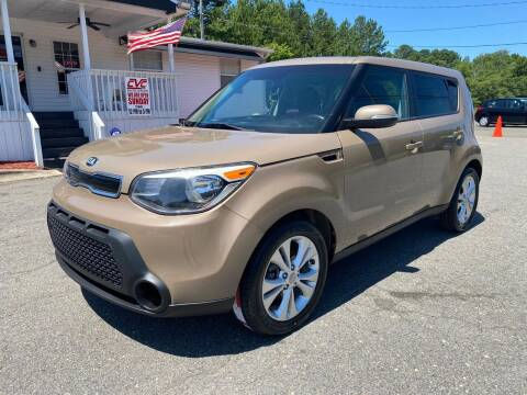 2014 Kia Soul for sale at CVC AUTO SALES in Durham NC