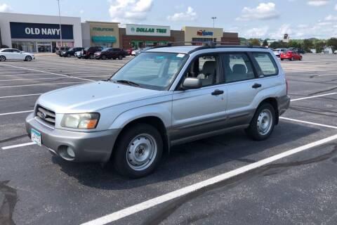 2003 Subaru Forester for sale at Cannon Falls Auto Sales in Cannon Falls MN
