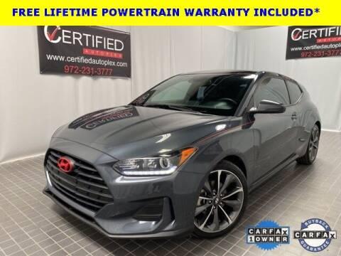 2019 Hyundai Veloster for sale at CERTIFIED AUTOPLEX INC in Dallas TX