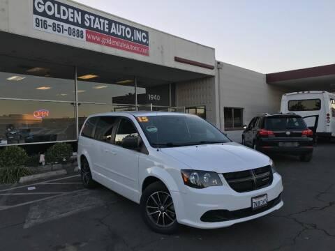2015 Dodge Grand Caravan for sale at Golden State Auto Inc. in Rancho Cordova CA