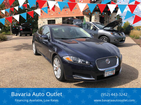 2015 Jaguar XF for sale at Bavaria Auto Outlet in Victoria MN