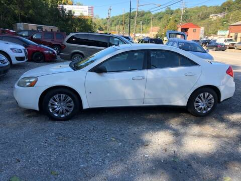 2008 Pontiac G6 for sale at Compact Cars of Pittsburgh in Pittsburgh PA