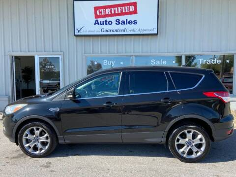 2013 Ford Escape for sale at Certified Auto Sales in Des Moines IA