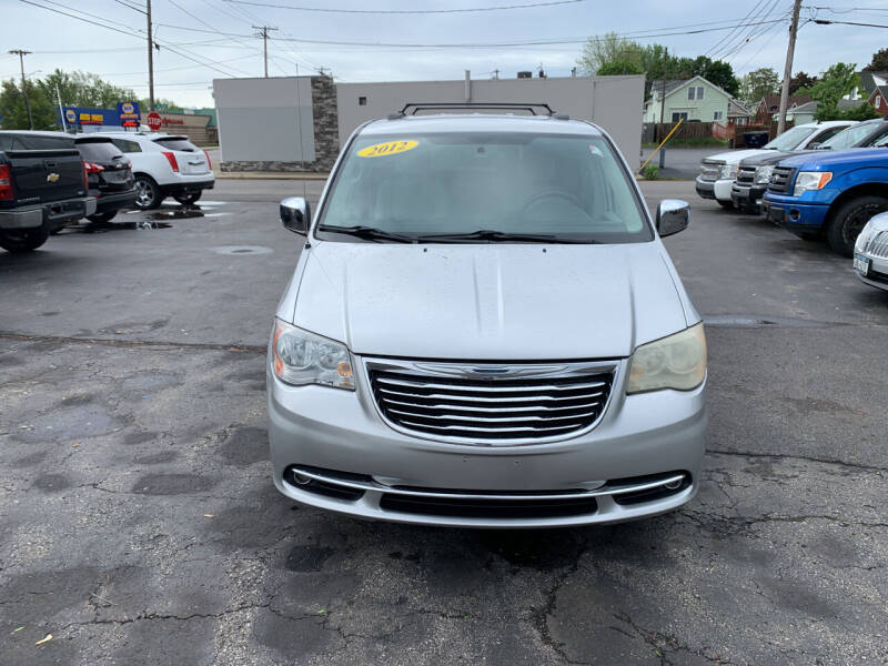 2012 Chrysler Town and Country for sale at L.A. Automotive Sales in Lackawanna NY
