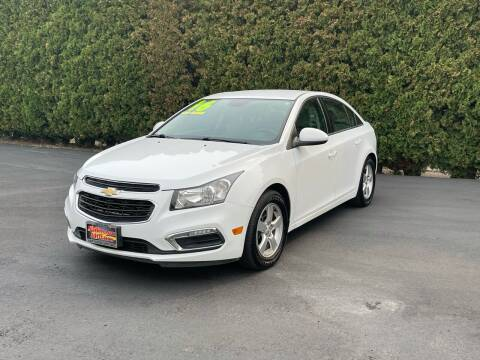2016 Chevrolet Cruze Limited for sale at Yaktown Motors in Union Gap WA