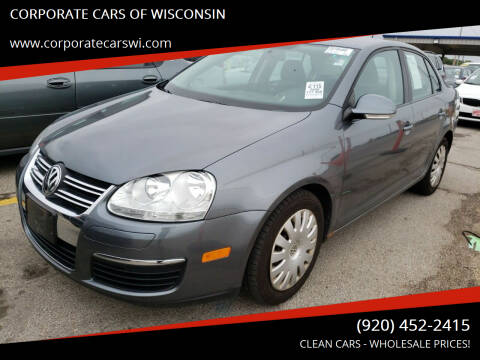 2009 Volkswagen Jetta for sale at CORPORATE CARS OF WISCONSIN - DAVES AUTO SALES OF SHEBOYGAN in Sheboygan WI
