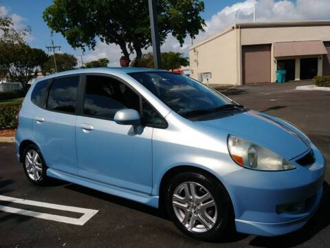 2008 Honda Fit for sale at Love's Auto Group in Boynton Beach FL