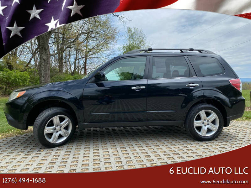 2010 Subaru Forester for sale at 6 Euclid Auto LLC in Bristol VA
