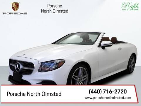 2018 Mercedes-Benz E-Class for sale at Porsche North Olmsted in North Olmsted OH
